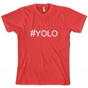 #YOLO (Hashtag) T Shirt