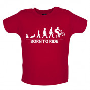 Born to Ride BMX Baby T Shirt