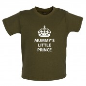 Mummy's Little Prince Baby T Shirt