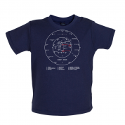 Cricket Ground Diagram Baby T Shirt