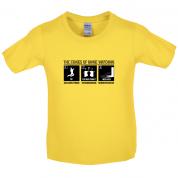Stages Of Binge Watching Kids T Shirt