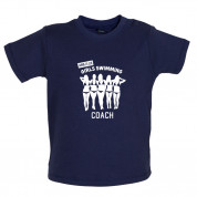 Amateur Girls Swimming Coach Baby T Shirt