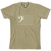 Bass Cleff T Shirt