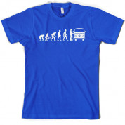 Evolution of Man Bay Camper T Shirt
