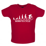 Born to ride  Baby Cycling T Shirt