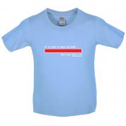 Health Bar We Can Kill It Kids T Shirt