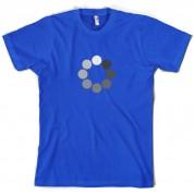 Loading Screen Buffering Circles T Shirt