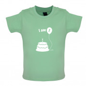 I Am 1 Baby Birthday T Shirt