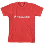 #Preggers (Hashtag) T Shirt
