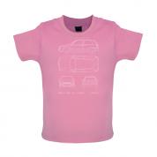 4 View Golf MK3  Baby T Shirt