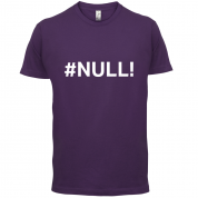 #Null T Shirt