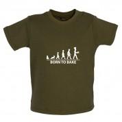 Born To Bake Baby T Shirt