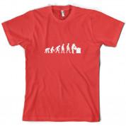 Evolution Of Man Beekeeper T Shirt
