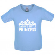 Daddy's Little Princess Kids T Shirt