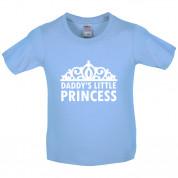 Daddy's Little Princess Kids T Shirt