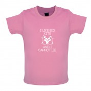 I Like Big Kits And I Cannot Lie Baby T Shirt