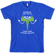 Call the Vet - These Pythons are Sick! T Shirt