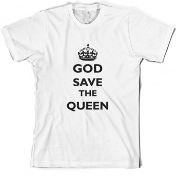 a766a4c6 God Save The Queen T-Shirt   Funny T shirts and more from Dressdown ...