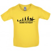 Born to Fight Kids Judo T Shirt