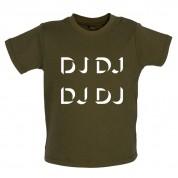 DJ DJ DJ DJ Baby T Shirt