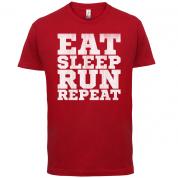Eat Sleep Run REPEAT T Shirt