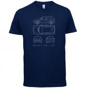 4 View Golf MK2  T Shirt
