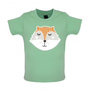 Smiley Face Mrs Fox Mrs T Shirt