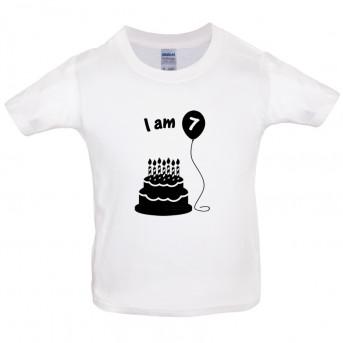 Kids Birthday T Shirt Image 1