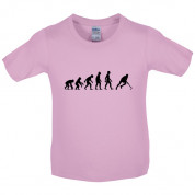 Evolution of Man Field Hockey Kids T Shirt