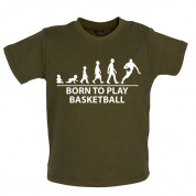 Born to play Basketball Baby T Shirt