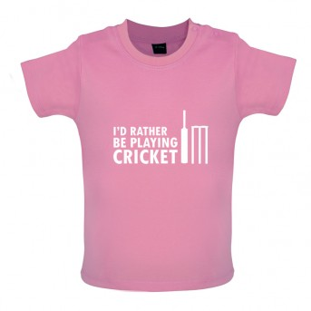 ff6a0dcf6 Baby and Toddler Funny Cricket T-Shirt | View our full range of ...