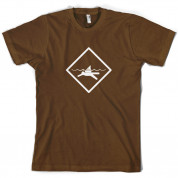 Diver Shark Sign T Shirt