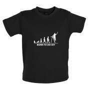 Born To Do DIY Baby T Shirt