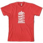 Wibbly Wobbly Timey Wimey T Shirt