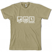 Eat Sleep Handball T Shirt