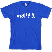 Evolution of Man Cricket T Shirt