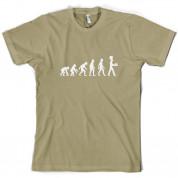 Evolution of Man Bake T Shirt