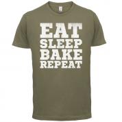 Eat Sleep Bake REPEAT T Shirt