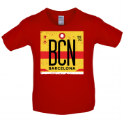 Barcelona Airport  Kids T Shirt
