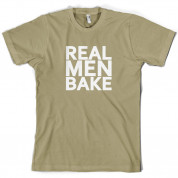 Real Men Bake T Shirt