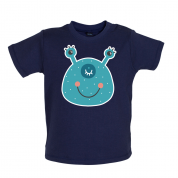 Smiley Face Alien Mrs T Shirt