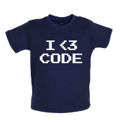 I Heart Code Mrs T Shirt