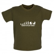 Born To Play Chess Baby T Shirt
