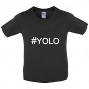 #YOLO (Hashtag) Kids T Shirt