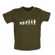 Evolution Of Man Plumber Baby T Shirt