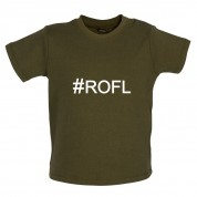 #ROFL (Hashtag) Baby T Shirt