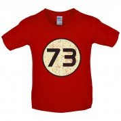 73 Logo Kids T Shirt