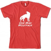 One Man Wolfpack T Shirt