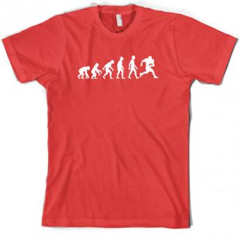 aa904e8f Evolution of Man American Football T-Shirt | Funny T shirts & more ...