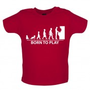 Born to Play Arcade games Baby T Shirt